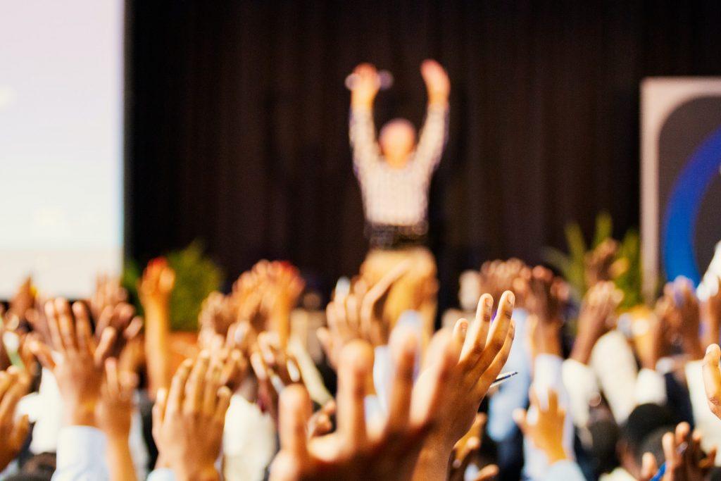 webinar audience